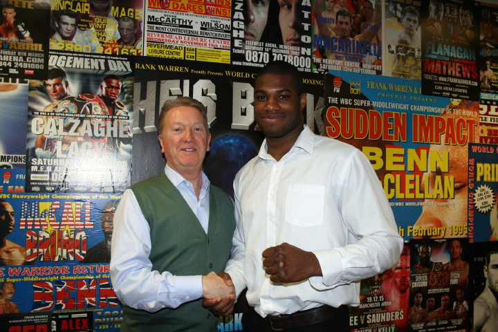 """... to be knocking on the door for a world title by 2020"""" » Boxing News"""